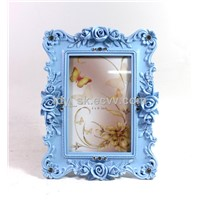 POLYRESN CLASSIC ROSE PHOTO FRAME