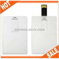PVC Blank USB Credit Card Wholesale J106 64MB~32GB