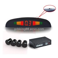 Parking sensor with LED display