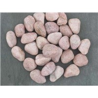 Pink Granite Pebble Stone