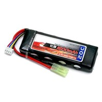 RC battery High Capacity Li-Polymer BATTERY-7.4V-5200mAh-35C