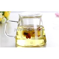 RELEA New Item Glass Cup With Filter And Lid