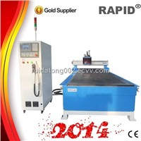 Rapid-1258 multi-spindle wood door drilling machine