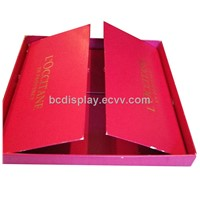 Cardboard Cosmestic with Grey Board Floding Gift Box