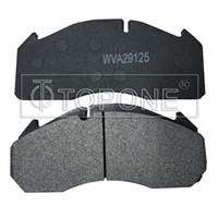 SEMI-METALLIC GREEN MATERIAL BRAKE PAD FOR TRUCK WVA29125