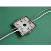 SMD 5050 lens led module with square 4leds DC12v IP66