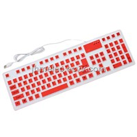 Silicone Roll Up Keyboard Washable