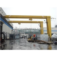 Single Girder Semi Door Crane/Gantry Crane