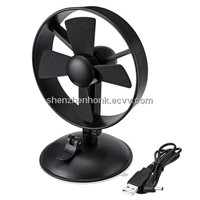 USB Fan with suction cup design to fix on the wall EVA Blades