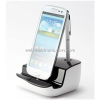 Universal cradle with pen holder Micro Connector with audio output function