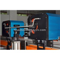 Vertical rebar double bending bender