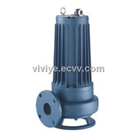 WQK WITH CUTTING DEVICES DIVING SEWAGE PUMP SERIES