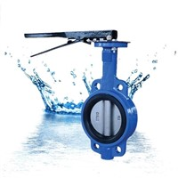 Wafer Type Central line control Butterfly valve