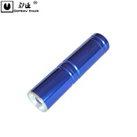 Waterproof  3WCree Led Aluminium alloy zoom Flashlight