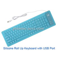 Wired Slim Keyboard USB Flexible