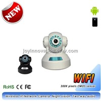Wireless Cloud IP Camera (NC10L), Two-way Audio, night vision to 10m