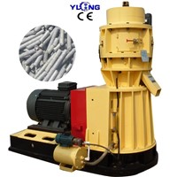 Wood Sawdust Pellet Machine with Flat Die