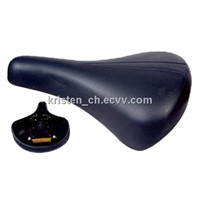 bicycle saddle/leather cover/laday bike/kid's bike saddle