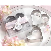 biscuit cutter stainless steel cookie cutters  wedding favors of giveaway kitchware
