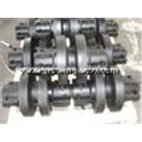 bottom roller for Nippon Sharyo(NISSHA) Piling machine DH408