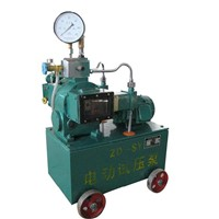 electric hrdraulic test pump(2D-SY)