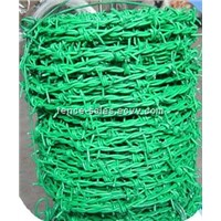 Factory Supply PVC Coated Barbed Wire (Anping Suppler )