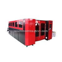 fiber 1Kw metal laser cutting machine