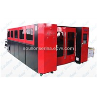 fiber 2Kw metal sheets laser cutting machine