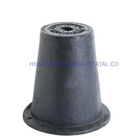 hebei symbol cast iron surface box for hydrant and valve protection
