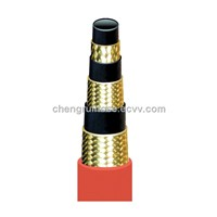 hydraulic hoses/rubber hoses/high pressure steel wire hoses