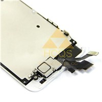 iPhone 5 LCD Screen with small parts assembly white