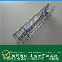 medical equipment loaded basket