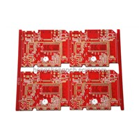 multilayer pcb 6layers circuit board main board pcb factory red mask pcb