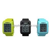 new arrival Trakdot bluetooth smartwatch Wristwatch with E-paper display for iPhone5
