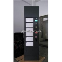 password locker charging station