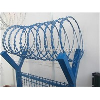 Powder Coated Razor Barbed Wire Concertina Razor Barbed Wire