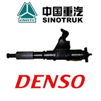 sinotruk howo truck spare parts denso fuel injector