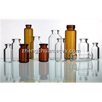 tubular glass bottle/vial