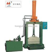 Vertical Natural Rubber Cutting Machine/ Plastic Material Cutting Machine