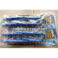 disposable razor Gillette Blue II plus(24pcs/card Spanish version)