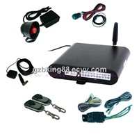 full band GPS GSM car alarm system
