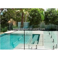 tempered glass for pool fence