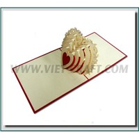 Pop up 3D card greeting card