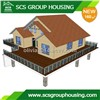 160m2 Modern House of Steel Structure/Earthquake Resistance_SCS GROUPHOUSING
