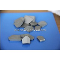 Cemented carbie inserts for coal mining