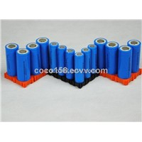 Cylindrical lithium rechargeable Battery 18650 1500mah