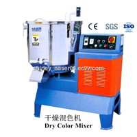 Dry color mixer/plastic mixer and dryer/plastic dryer mixer machine