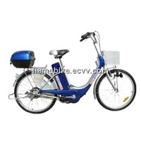 Economical Electric Bicycle/Simple Electric Bike With Iron Frame and Lead-acid Battery