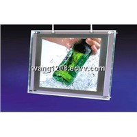 Frameless crystal ultra slim led light box