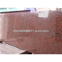 G562 maple red granite slab